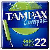 Tampax compack super x22