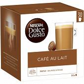 Dolce Gusto café au lait x30 300 g