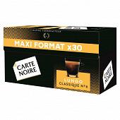 Carte Noire espresso lungo classique n°6 type nespresso x30 168g