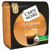 Carte noire café dosettes classique x36 250g
