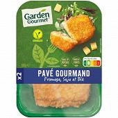 Herta le bon végétal pavé gourmand fromage soja et blé 180g