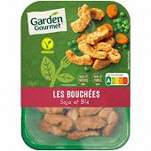 Herta Le bon végétal bouchées grillées soja & blé 175g
