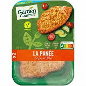 "Herta ""le bon végétal"": escalope soja & blé 180g"