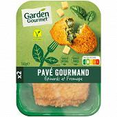 """Herta """"Le bon végétal"""" Pavé gourmand épinard & fromage 2x90g"""