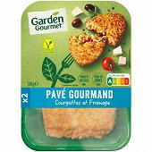 Herta le bon végétal pavé gourmand courgettes fromage 180g