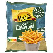 Mccain frites petites et fines côté comptoir 650g