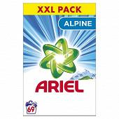 Ariel poudre détergent alpine 69d 4.485kg