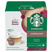 Starbucks by Dolce Gusto cappuccino capsules café x12 dosettes