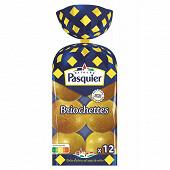 Brioche Pasquier briochettes x12 - 480g