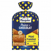 Brioche Pasquier pains chocolat emballage individuel x 16 - 720 g