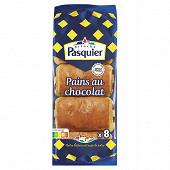 Brioche Pasquier pains chocolat x 8 emballage individuel 360 g
