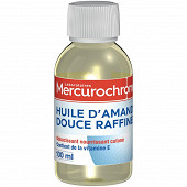 Mercurochrome huile d'amande douce raffinée 100ml