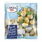 Costa noix de Saint Jacques crues sans corail 300g