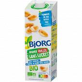 Bjorg boisson amande grillée sans sucres bio 100% végétal 1l