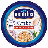 Nautilus crabe chair et pattes 105g
