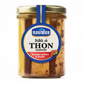 Nautilus filets de thon tomates séchées & basilic bocal 133g