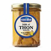 Nautilus filets de thon à l'huile d'olive bocal 135 g