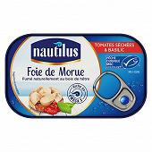 Nautilus foie de morue aux tomates séchées et basilic 120g