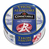 Connetable 1/5 thon albacore au naturel label rouge 112g