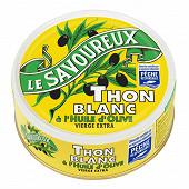 Le savoureux thon blanc à l'huile d'olive vierge extra 1/5 160g