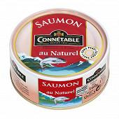 Connetable saumon au naturel 112g