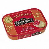 Connétable sardines à l'huile d'olive vierge extra sans arêtes 115g