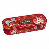 Connetable 1/4l filets maquereaux label rouge à la sauce tomate cuisinée aux petits légumes 176g
