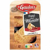 Le Gaulois pané milanaise au parmesan x2 200g