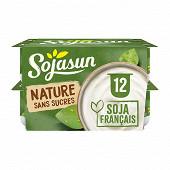 Sojasun spécitalité au soja fermentée nature 12x100 g