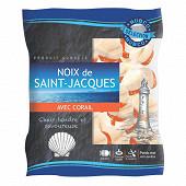 Hubco noix de Saint Jacques avec corail origine Pérou 40/60 250g