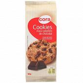 Cora cookies maxi pépites chocolat 184g