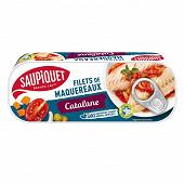 Saupiquet filets de maquereaux catalane 1/4 169g