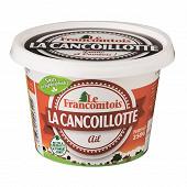 Le Francomtois cancoillotte ail pot 250g