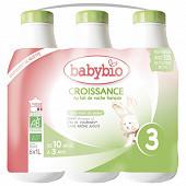 Babybio croissance liquide de 10 à 36 mois 6x1l