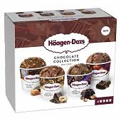 Haagen dazs minipot chocolate collection 318g - 4x95ml
