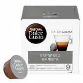 Nescafé Dolce Gusto Espresso barista, capsule café intensité 9 - x16 dosettes 112g