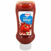 Cora ketchup allégé flacon souple 530g