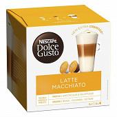 Nescafé Dolce Gusto Café Latte macchiato, capsule café - x16 dosettes 183g