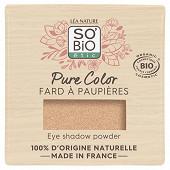 So bio fard a paupieres pure color 01 beige lumiere