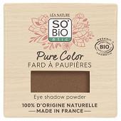 So bio fard a paupieres pure color 02 brun solaire