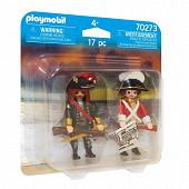 70273 Capitaine pirate et soldat