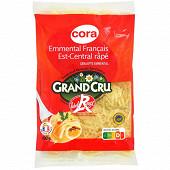 Cora emmental grand cru label rouge igp râpé au lait cru 100g