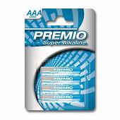 Premio 4 piles alcalines AAA