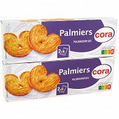 Cora palmiers 2x100g