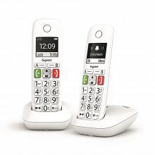 Gigaset Téléphone sans fil E290 DUO BLANC