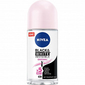Nivea Déodorant femme bille black and white clear 50ml