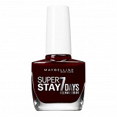 Gemey Maybelline vernis à ongles Tenue&Strong N°287 rouge couture NU