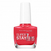 Gemey Maybelline vernis à ongles Tenue&Strong N°493 blood orange NU