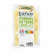Lunor pommes de terre en lamelles 500g