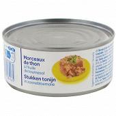 Morceaux de thon à l 'huile de tournesol 104g net égoutté - 1/5